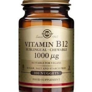 Solgar B12-Vitamiini 1000 Mikrog