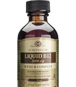 Solgar B12-Vitamiini + B-Complex Nestemäinen
