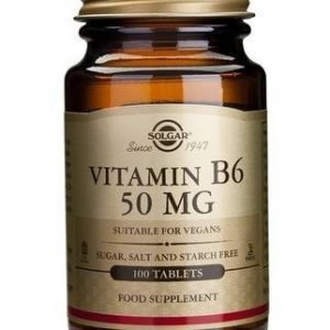 Solgar B6-Vitamiini