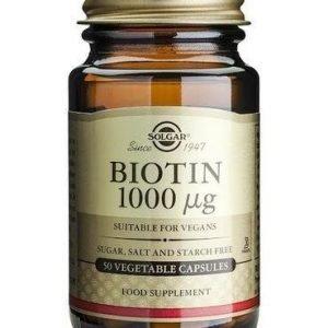 Solgar Biotiini 1000 Mikrog