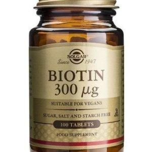Solgar Biotiini 300 Mikrog