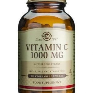 Solgar C-Vitamiini 1000 Mg
