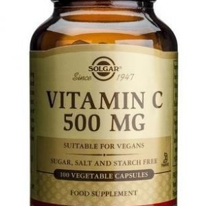 Solgar C-Vitamiini 500 Mg