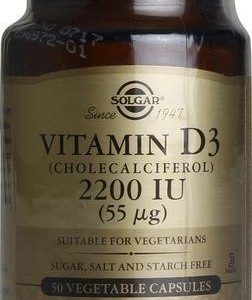 Solgar D3-Vitamiini 55 Mikrog Kasvissyöjille