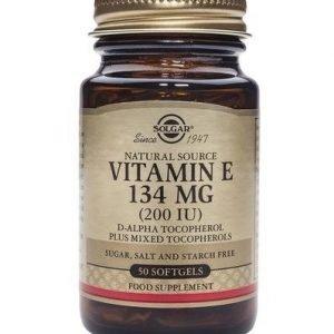 Solgar E-Vitamiini 134 Mg
