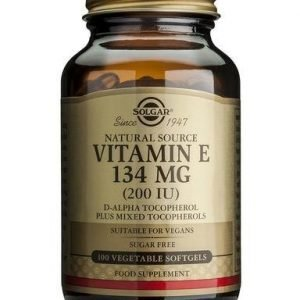 Solgar E-Vitamiini 134 Mg Vegaaninen