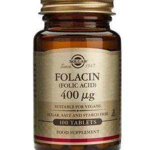 Solgar Foolihappo 400 Mikrog