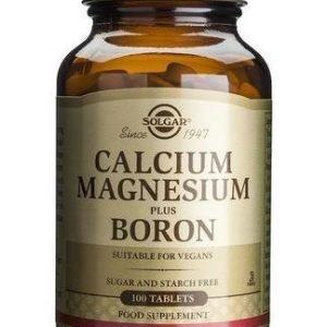 Solgar Kalsium Magnesium + Boori