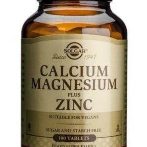 Solgar Kalsium Magnesium + Sinkki