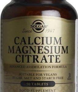 Solgar Kalsium-Magnesiumsitraatti