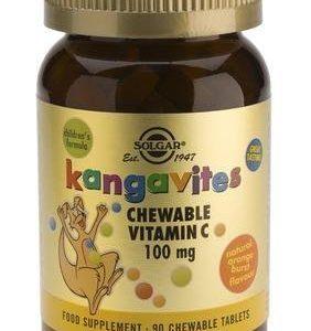 Solgar Kangavites Imeskeltävä C-Vitamiini Lapsille