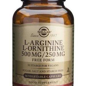 Solgar L-Arginiini L-Ornitiini