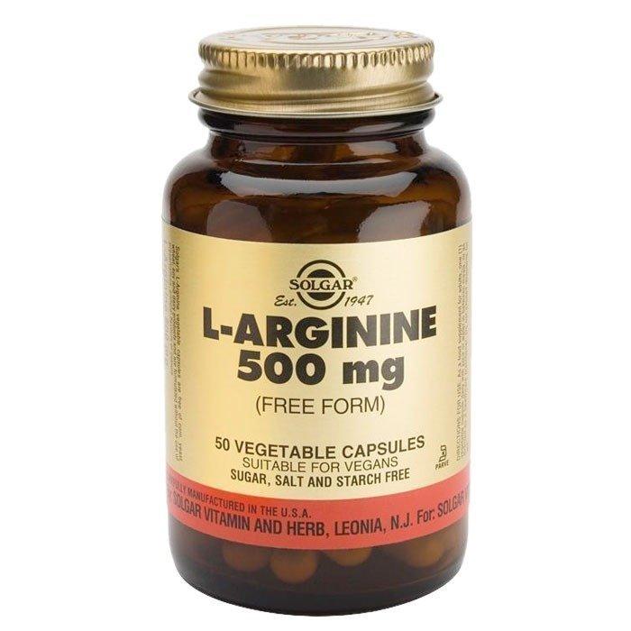 Solgar L-Arginine 500mg