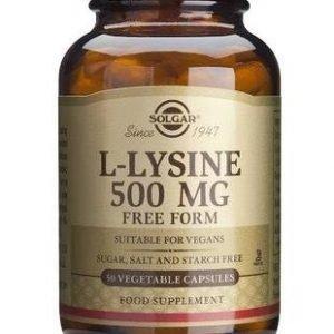 Solgar L-Lysiini 500 Mg