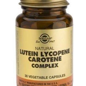 Solgar Luteiini-Lykopeeni-Karoteeni Complex