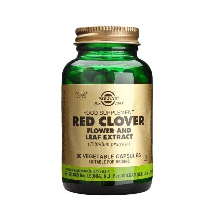 Solgar Red Clover Leaf Extract Puna-apila lehtiuute 60 kapselia