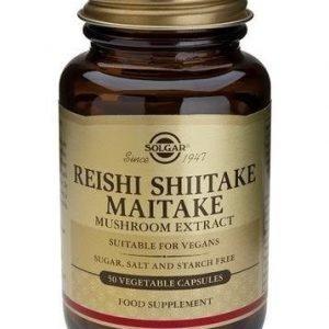 Solgar Reishi Shiitake Maitake