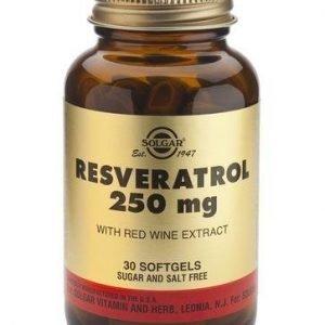 Solgar Resveratrol 250 Mg