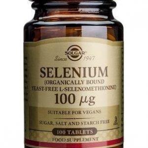 Solgar Seleeni 100 Mikrog