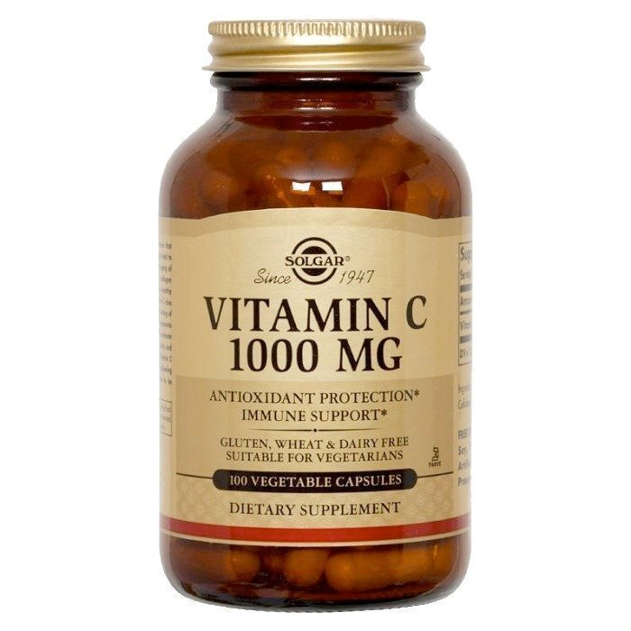 Solgar Vitamin C 1000 mg 100 vegicaps