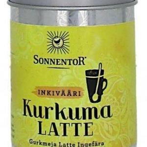 Sonnentor Luomu Kurkuma Latte Inkivääri