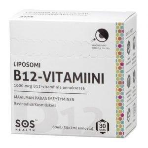 Sos Health Liposomi B12-Vitamiini