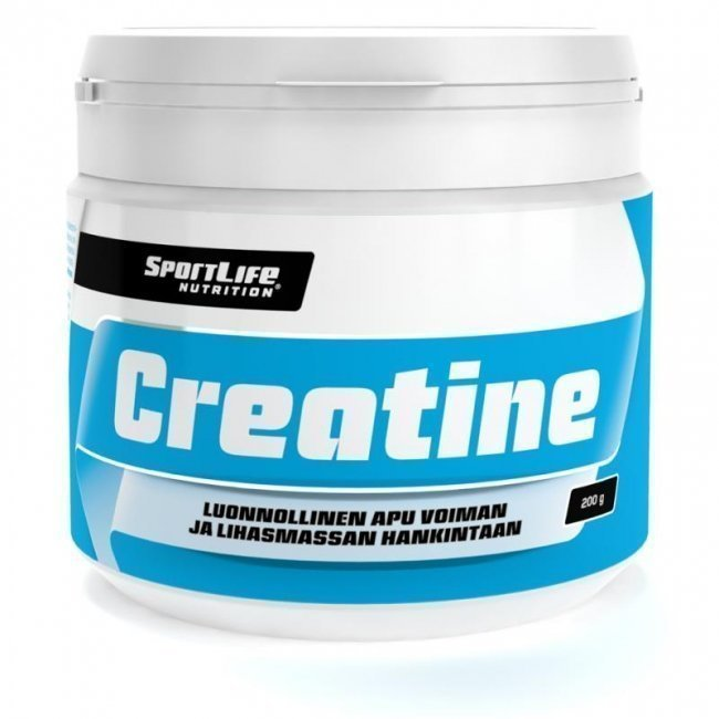 SportLife Nutrition Creatine kreatiini