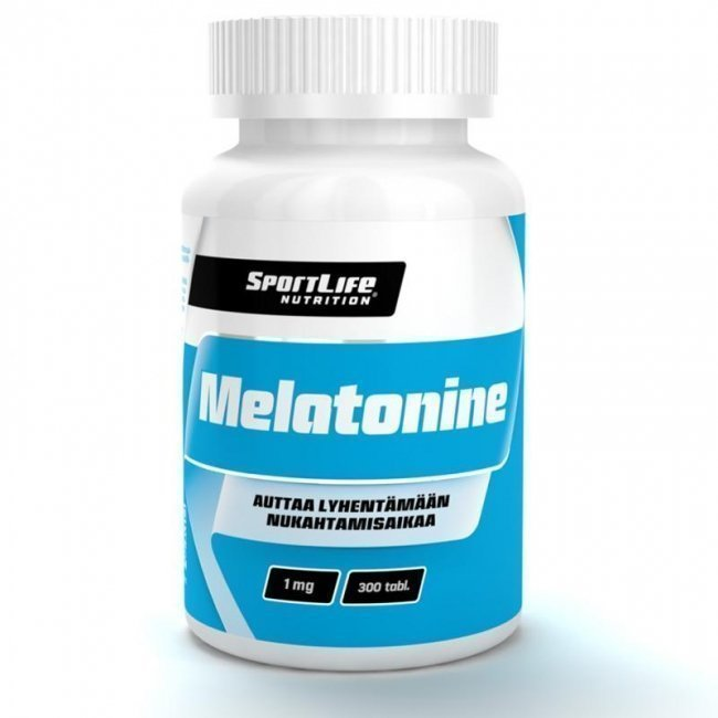 SportLife Nutrition Melatonine 1mg