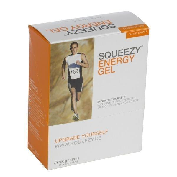 Squeezy Energy Gel 12x33g laatikko