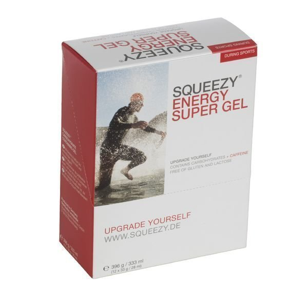 Squeezy Energy Super Gel 12x33g laatikko
