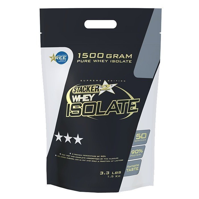 Stacker 2 100% Whey Isolate 1500 g Vanilla