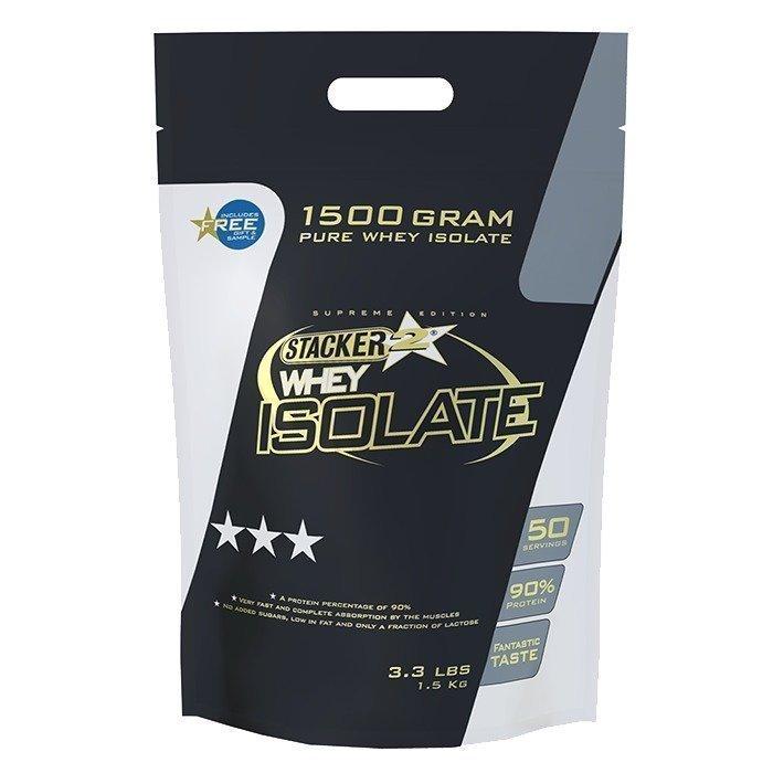 Stacker 2 100% Whey Isolate 1500 g Vanilla