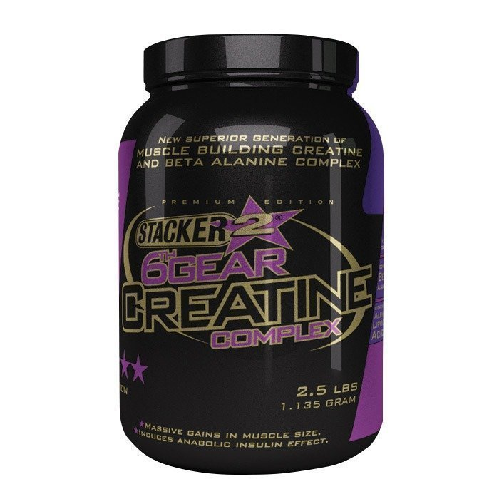 Stacker 2 6th Gear Creatine 1135 g Lemon