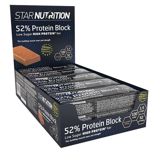 Star Nutrition 12 x 52% Protein Block 100 g