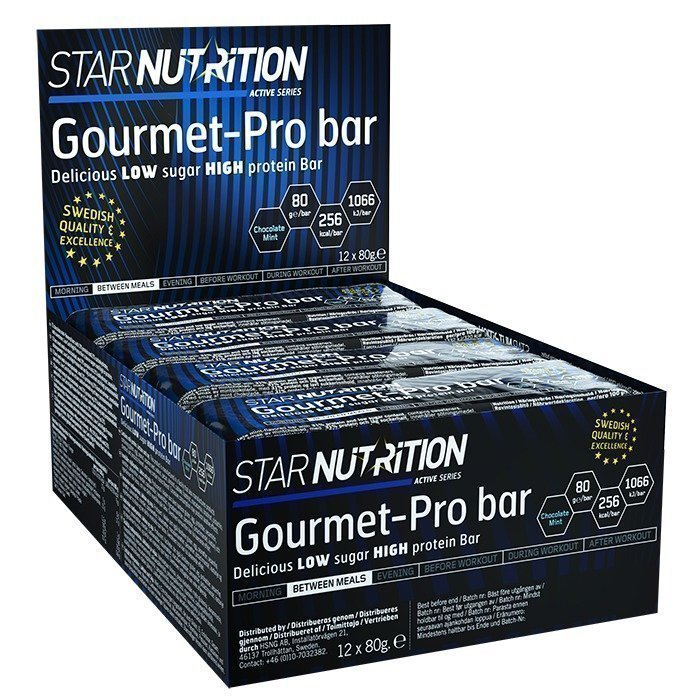 Star Nutrition 12 x Gourmet Pro bar 80 g