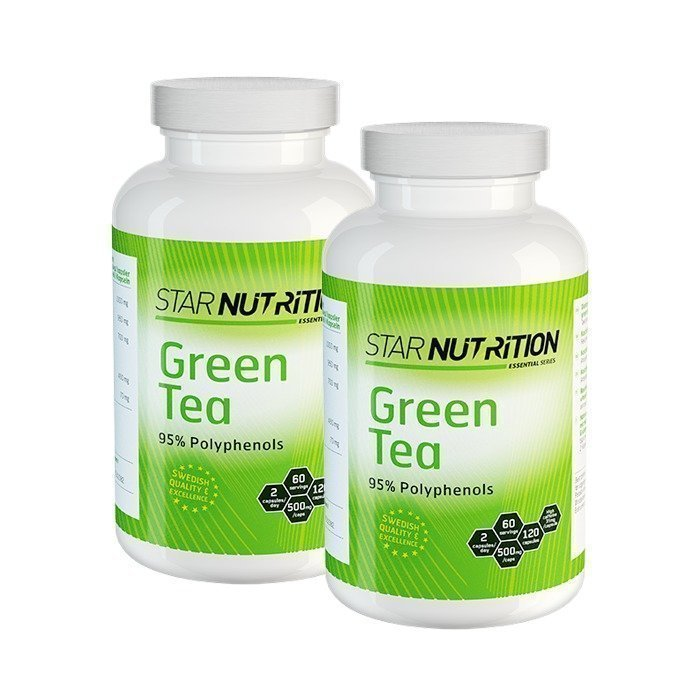 Star Nutrition 2 x Green Tea 120 caps