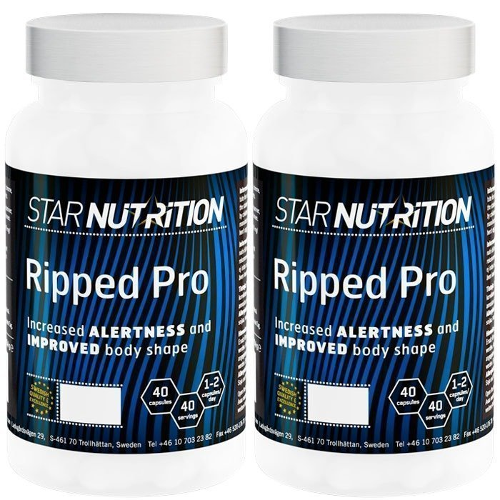 Star Nutrition 2 x Ripped Pro