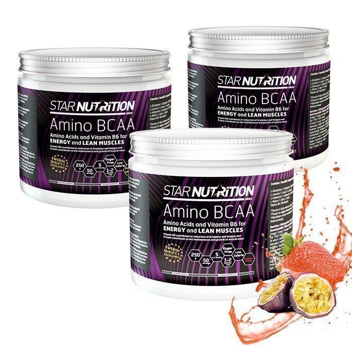 Star Nutrition 3 x Amino BCAA 250 g