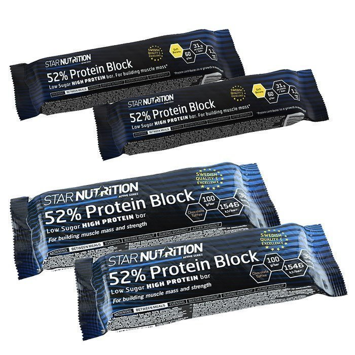 Star Nutrition 52% Bar-Collection
