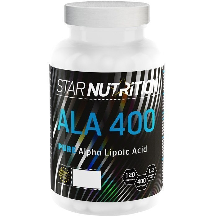 Star Nutrition ALA 400 120 caps