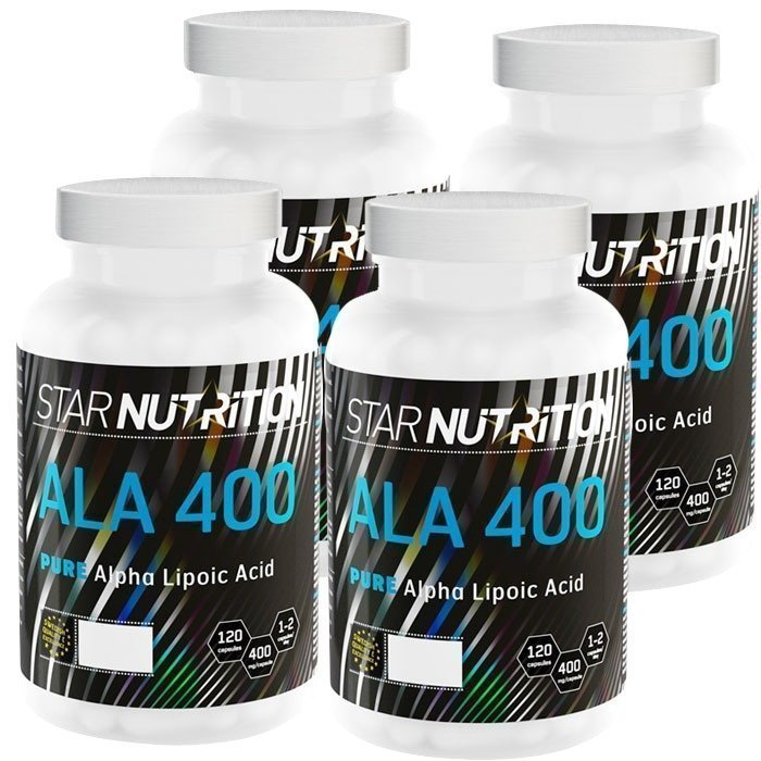 Star Nutrition ALA 400 BIG BUY 480 caps