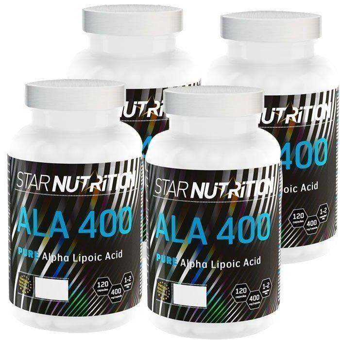 Star Nutrition ALA 400 BIG BUY 480 caps