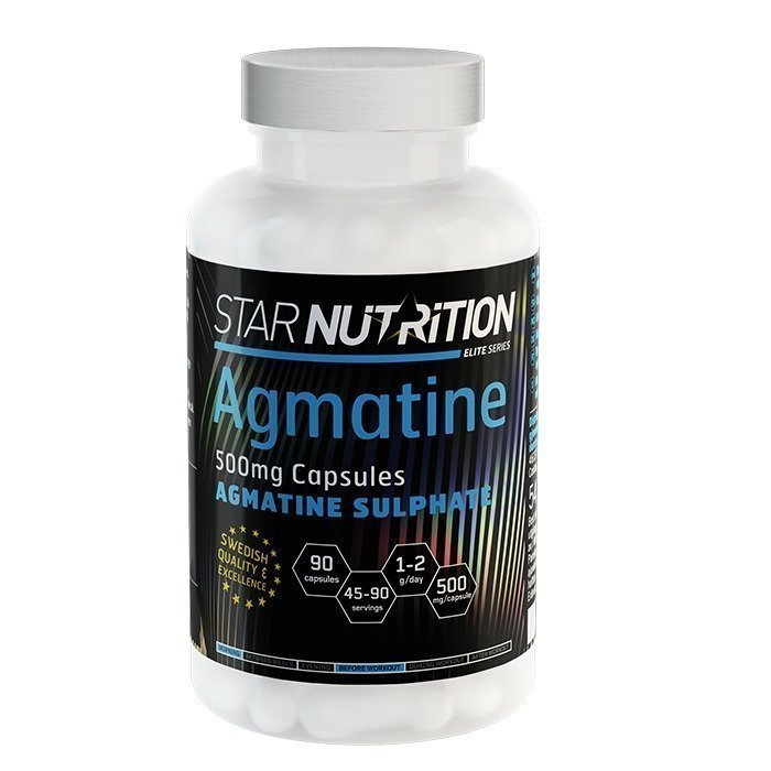 Star Nutrition Agmatine caps 90 caps