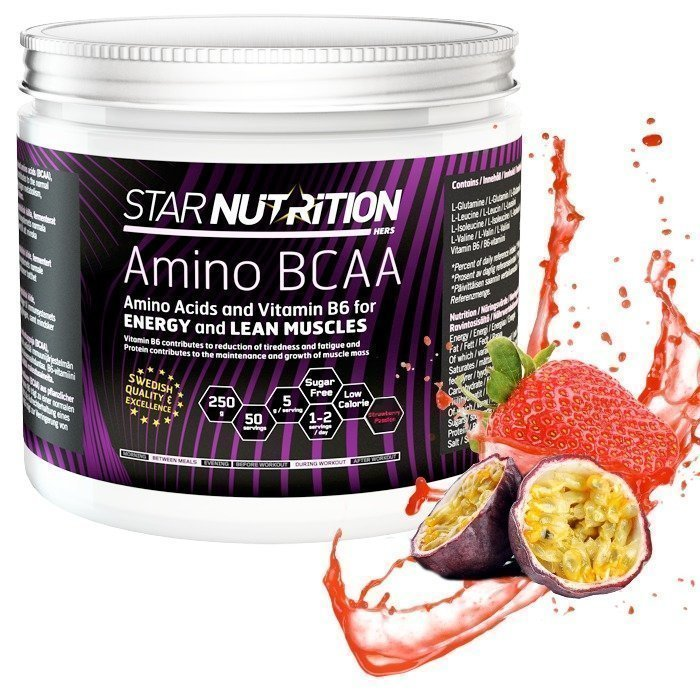 Star Nutrition Amino BCAA 250 g Strawberry Passion