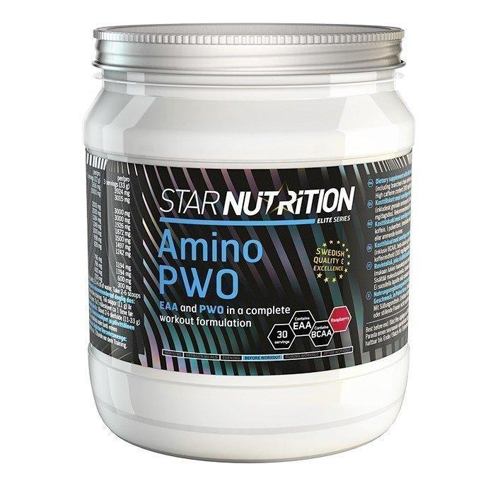 Star Nutrition Amino PWO 330 g Elderflower-lemon