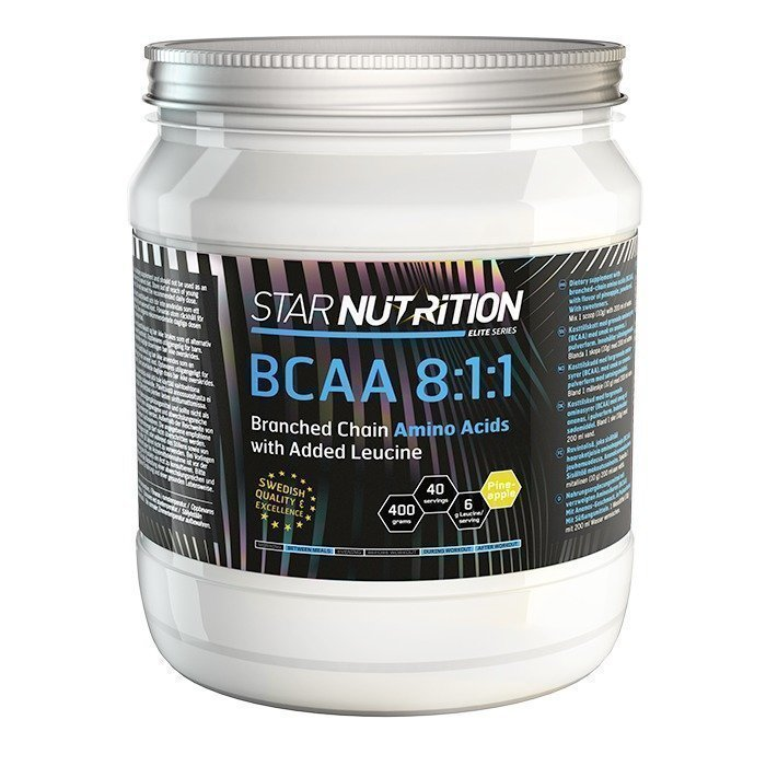 Star Nutrition BCAA 8:1:1 400 g Pineapple