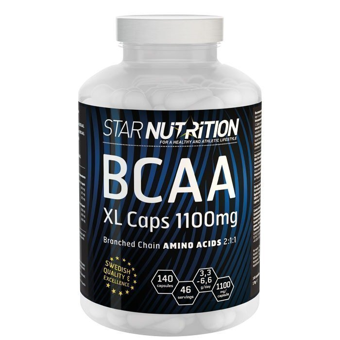 Star Nutrition BCAA XL-caps 140 caps