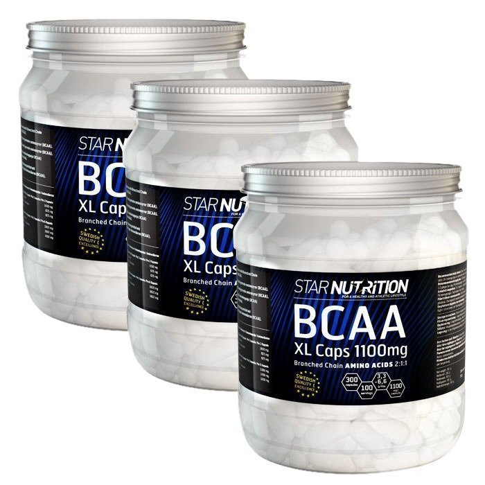 Star Nutrition BCAA XL-caps BIG BUY 900 caps