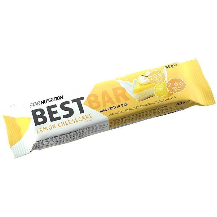 Star Nutrition Best Bar 60 g Lemon Cheesecake