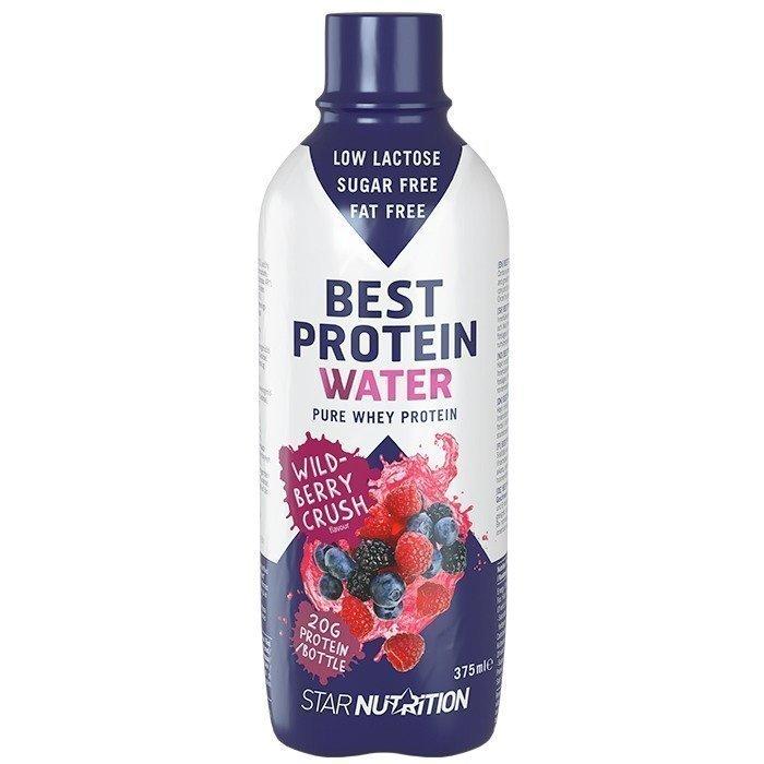 Star Nutrition Best Protein Water 375 ml Wildberry Crush